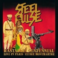 STEEL PULSE - RASTAFARI CENTENNIAL LIVE  CD  14 TRACKS REGGAE / POP  NEUF
