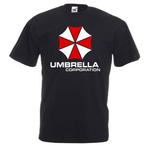 Umbrella Corporation Resident Evil Video Game Movie Logo T-Shirt