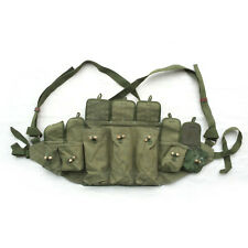 Original Chinese Military Sks Type 56 Ammo Chest-Rig Bandolier Pouch