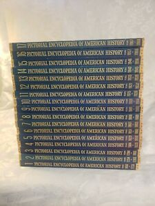 Pictorial Encyclopedia Of American History Volumes 1-17