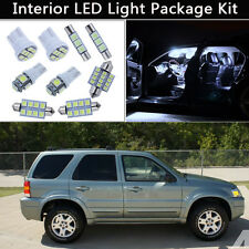 10PCS Bulbs White LED Interior Lights Package kit Fit 2006-2007 Ford Escape J1