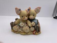 1994 Enesco This Little Piggy Home Sweet Home Vtg Retired w/box Mary Rhyner
