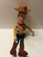 "Disney Store Toy Story WOODY 16"" Sheriff Cowboy Doll"