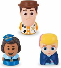Disney Mattel Toy Story 4 Finger Puppets 3 Pack Giggle McDimples, Woody, Bo Beep