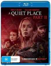 a Quiet Place Part 2 II Blu-ray Region B
