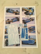 DECAL FOR 1/18 SCALE DIE CAST RENAULT R26 SHARK FRENCH GP 2006