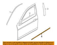 JAGUAR OEM 00-08 S-Type FRONT DOOR-Body Side Molding Right XR81416XXX