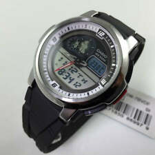 Men's Casio Analog Digital Thermometer Watch AQF-102W-7BV AQF102W-7BV AQF102W-7B