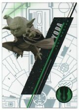 2016 Star Wars High Tek Form 1 Pattern 4 #SW3 Yoda