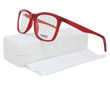 71a5d9b711 NEW Polaroid PLD201 Y3U 53mm Rosso Scuro Optical Eyeglasses Frames