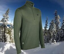 Icebreaker Original 320g Thick Merino Wool Ski / Golf Sweater Top Mens 2XL Nwt