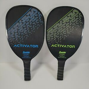 Frankin Pickleball 2 Player Wooden Paddles Set 52740 Excellent Cond. Pickle Ball