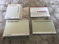 2018 Kia Forte Owners Manual With Navigation OEM Free Shipping