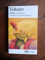 Voltaire : Zadig / Folio, 2002