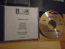 RARE PROMO Campfire Girls DEMO CD work in progress Failure SCOTT WEILAND qotsa !
