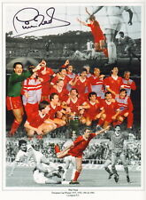 """LIVERPOOL-12x16"""" MONTAGE PHOTOGRAPH HAND SIGNED by PHIL NEAL-AFTAL/UACC RD316"""