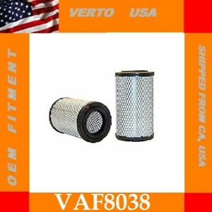 Air Filter For Cadillac , Chevrolet , GMC Base on Chart Verto USA VAF8038