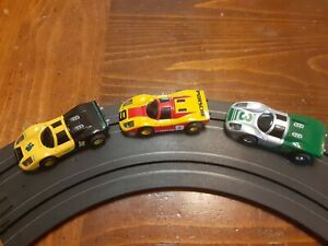 Tyco HO SLOT CAR Porsche LOT On  440x2 Chassis