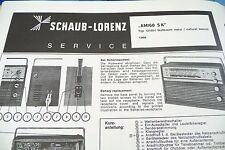 Service Manual-Anleitung für Schaub-Lorenz Amigo S K, 121051