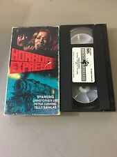 Horror Express VHS Tape  1972 Classic Horror VHSRare Star Classics Version 3217