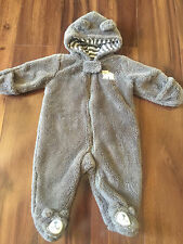 baby boys CARTER'S SNOWSUIT bunting FLEECE TEDDY WEAR warm COAT soft 3 MONTHS