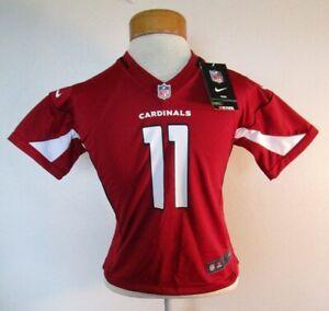 NWT Nike Larry Fitzgerald Arizona Cardinals #11 Preschool Kids Game Jersey S $55