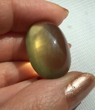 36 Ct. Mild Golden Cats Eye Moonstone Cab Cabochon