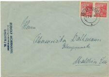 SBZ MECKL.VORPOMMERN Mi.36 yb (2) auf Brief gehr. Kramp BPP, Mi. 250 Euro