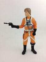 "1997 Luke Skywalker X-Wing Gear w/ Blaster 10"" Vinyl Applause Figure Star Wars"