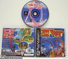 Sim Theme Park (Playstation) MINT & COMPLETE!!!