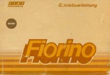 FIAT FIORINO MANUALE D'USO 1992 manuale bordo libro BA