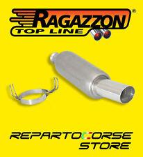 RAGAZZON TERMINALE SCARICO ROTONDO PEUGEOT 106 1.6 RALLY 8V 88CV 01> 18.0004.60
