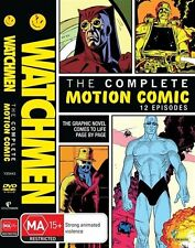 Watchmen - The Complete Motion Comic region 4 DVD (2 discs) animation
