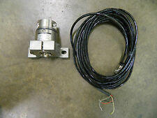 NEW MONTALVO LOAD CELL TYPE PBT2 250LB 250 LB W/ 30FT 6-PIN CABLE
