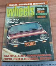 1969.WHEELS.HT MONARO GTS.BROUGHAM.MERCEDES 6.3.FIAT128.CAPRI.PACER.FORD..MERCER