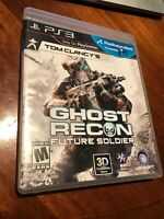 Tom Clancy's Ghost Recon: Future Soldier PS3 Mint Condition