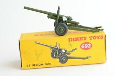 Dinky Toys No 692 5.5 Medium Gun - Meccano Ltd - Made In England - Boxed
