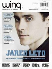 WINQ. Magazine,Jared Leto,Boy Ceorge,Yotam Ottolenghi,Chris Mears,William Bak