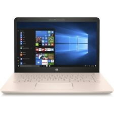 "HP Pavilion 14-bk070na 14"" Hd Or Rose Ordinateur Portable i3-7100U 8 Go 128 Go W10 2FN68EA -"