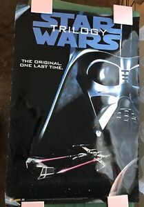 STAR WARS Trilogy 1995 Video Tape release The Original One Last Time video store