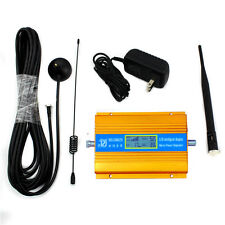 850MHz LCD CDMA Mobile phone Signal Booster Cellular Repeater Amplifier Antenna