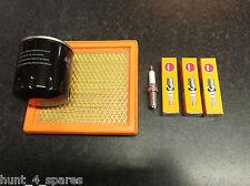 fits nissan MICRA MK3 (K12) SERVICE KIT OIL & AIR FILTERS NGK SPARK PLUGS