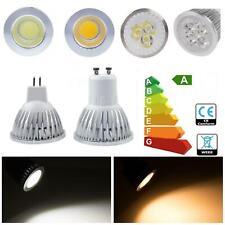 10/20PCS GU10 MR16 4W 5W 6W 7W Reino Unido COB LED Proyector de globo de las bombillas regulable