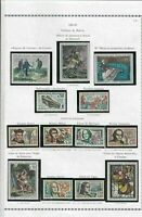 france 1962-63 stamps page ref 19783