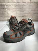 SWISS GEAR Athletic Shoes SM6705.16 Men's Leather Gray Orange US Size 7 M