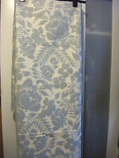 John Lewis Floral Garden fabric, duck egg, 1.7m x 140cm. Less than cost price!