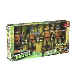 "TMNT Teenage Mutant Ninja Turtles Action Figures XL COLLECTION 11"" Large Pack 4"