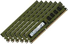 6x 4gb 24gb ddr3 samsung 1333 MHz/1066 MHz ECC ram pour Apple Mac pro 4,1 5,1