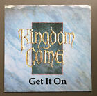 "KINGDOM COME - Get It On 7"" Vinyl Single Record 45 VG+ 1988 Usa Pressing Rare"