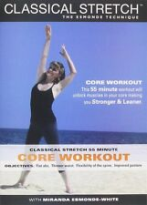 New Classical Stretch Core workout DVD Miranda Esmonde White Technique 55 mins